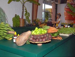 Estande da Associação de Produtores Orgânicos do Vale no Degusta Rio 2009